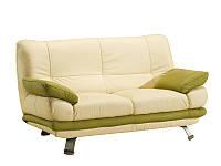 Двухместный кожаный диван ALASKA III (165 см)