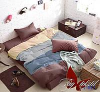Постельное белье семейное поплин Tag Color Mix №APT023