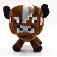 Мягкая Игрушка Майнкрафт корова 14 см (Minecraft)