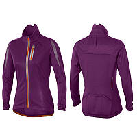 Женская куртка для велоспорта 2XU WC3497a (лиловый / оранжевый)