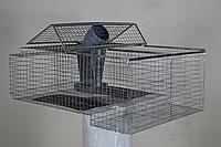 Клетка для кроликов (нижняя секция)