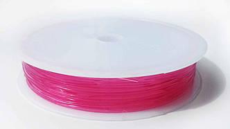 Леска-резинка силиконовая розовая