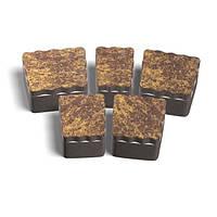 ЗОЛОТОЙ МАНДАРИН Тротуарная плитка Креатив 60 мм персиковый на сером цементе