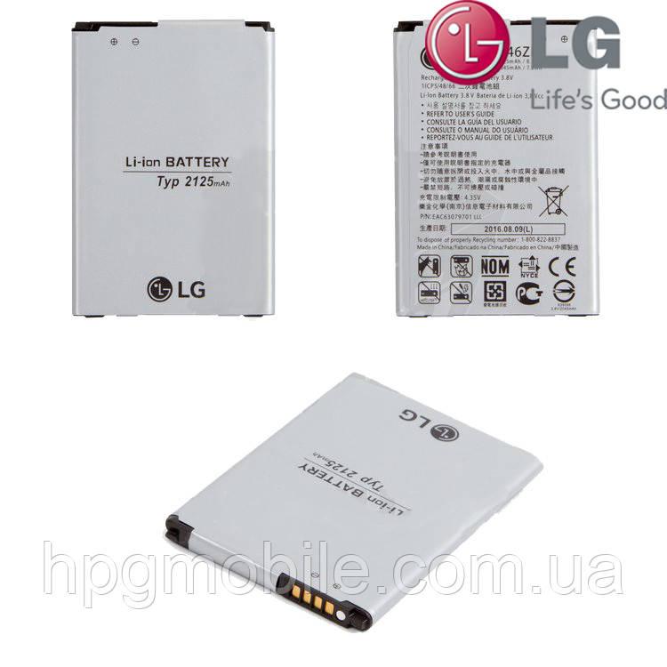 Батарея (акб, аккумулятор) BL-46ZH для LG K8 K350E, K350N, 2125 mAh, оригинал