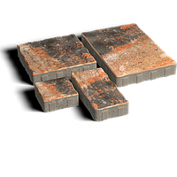 ЗОЛОТОЙ МАНДАРИН Тротуарная плитка Пассион 60 мм мессина