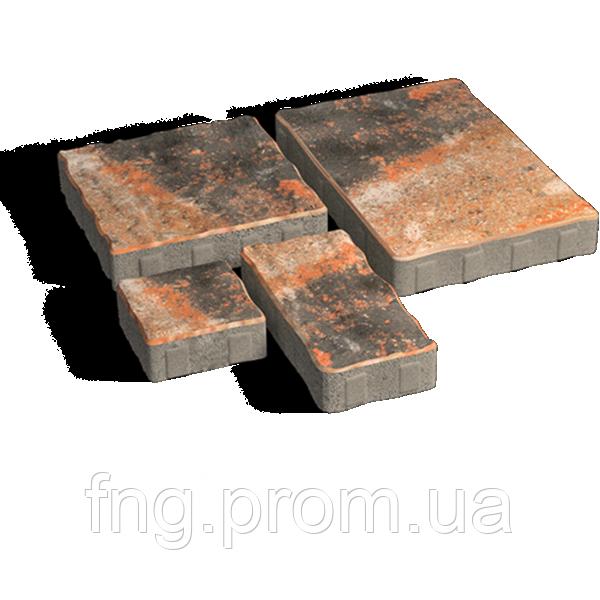 ЗОЛОТОЙ МАНДАРИН Тротуарная плитка Пассион 60 мм тоскана