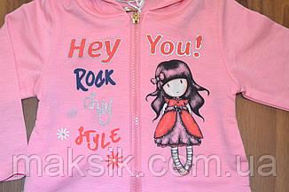 Мега стильный комплект для девочки с котоновыми лосинами Grace р.86, 92, фото 2