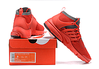Nike Air Presto Ultra Flyknit red кроссовки мужские найк аир престо красные
