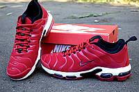 Nike Air Max TN Plus red кроссовки мужские найк аир макс тн плюс красные