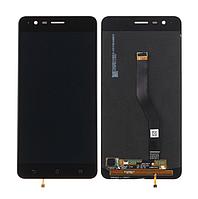 Оригинальный дисплей (модуль) + тачскрин (сенсор) для Asus Zenfone 3 Zoom ZE553KL (черный цвет)