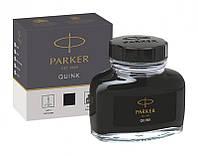 Расходник для ручек Parker Чернила   Parker Quink   черн.