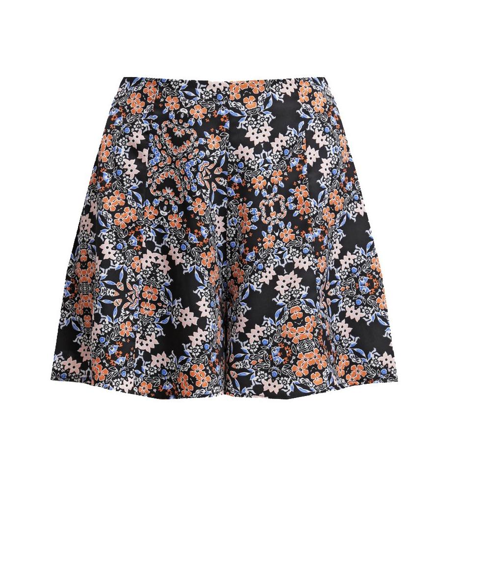 Свободные шорты в принт Miss Selfridge