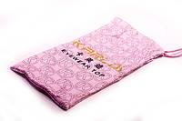 Розовый мешочек для очков