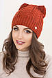 Женская шапка ушки «Габриэлла», фото 2