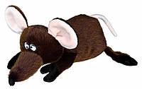 Игрушка Trixie Rat для собак плюшевая, с пищалкой, 36 см