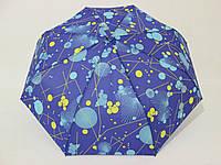 Женский зонт небольшого размера полный автомат в горох, фото 1