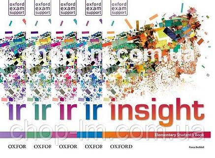 Рабочая тетрадь Insight Elementary Workbook with Online Practice, фото 2