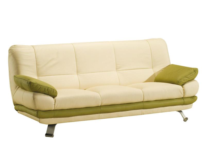 Прямой кожаный диван ALASKA III (223 см)