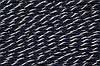 Канат декоративный 6мм (100м) т.синий+серебро