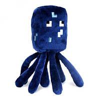 Мягкая игрушка Спрут осьминог майнкрафт(minecraft), 17см