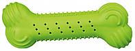 Кость Trixie Rustling Bone для собак резиновая, шуршащая, 18 см, фото 1