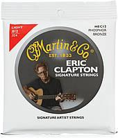 Струны для акустической гитары MARTIN MEC12 Clapton's Choice Phosphor Bronze Light (12-54)
