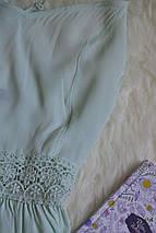 Платье цвета мяты с кружевом на талии и скрещенными бретельками New Look, фото 3