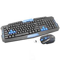 Беспроводная игровая клавиатура + мышь HK8100