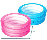 Надувной детский бассейн Bestway 51033  70 х 30 см