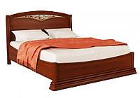 """Кровать """"Омега Люкс OLL-01"""" с ковкой и янтарем 160x200 Радо"""