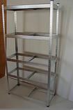 Полочный стеллаж 1800х710х310х5п.метал, фото 5