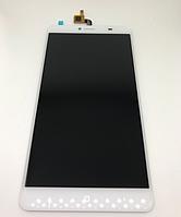 Оригинальный дисплей (модуль) + тачскрин (сенсор) для Doogee Y6 Max (белый цвет), фото 1