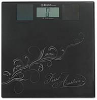 Бытовые весы напольные электронные для взвешивания человека до 150 кг First FA-8017