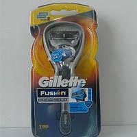 Станок мужской для бритья Gillette Fusion Proshield + 2 картриджа (Фюжин прошилд)