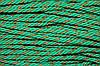 Канат декоративный 6мм (100м) зеленый (трава) + золото