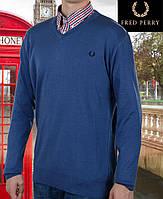 Свитер мужской Fred Perry-114 синий