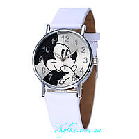Детские часы Mickey Mouse белые