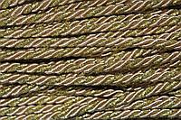 Канат декоративный 6мм (т) (100м) беж232+золото, фото 1
