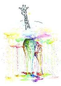 "Открытка ""Жираф"", фото 1"