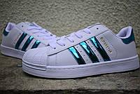 Жіночі Adidas SuperStar white/blue