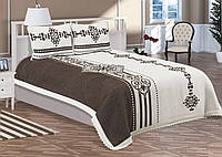 Двуспальное покрывало и две наволочки Tropik home Btn005