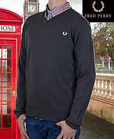 Свитер мужской Fred Perry-114 темносерый