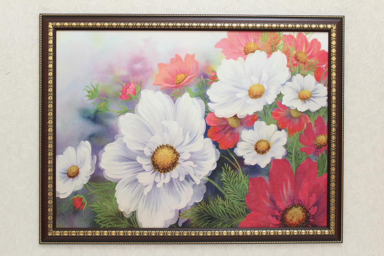 """Картина """"Садовые цветы"""""""