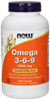 Omega 3-6-9 1000 мг NOW, 250 капсул