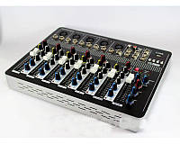 Аудиомикшер Mixer BT-7000 4ch (активный микшерный пульт)