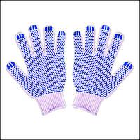 Перчатки рабочие, трикотажные с ПВХ точкой SKYLAND SL 8006 (1 пара)