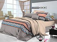 Двуспальный комплект постельного белья 180*220 сатин (7806) TM KRISPOL Украина