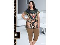 Домашняя одежда Lady Lingerie - 213 3XL комплект Код  2000008473293