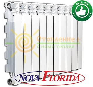 Радиатор алюминиевый Nova Florida Desiderio B4 350х100 (Италия)