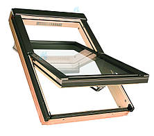 Мансардные окна FAKRO (Факро) FTS-V c вентиляционной щелью и энергосберегающим стеклопакетом U2